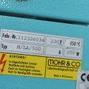 gebrauchte Gehäuseheizhaube Mohr M/LA/500  für 500ml  Rundkolben