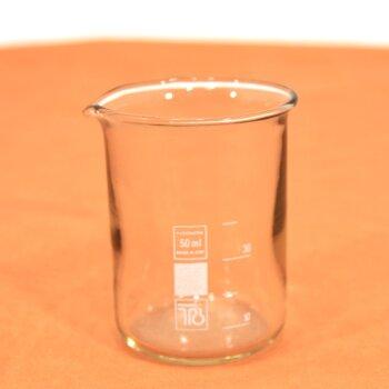 10 Stk. Rasotherm Becherglas 50 mL niedrige Form, unbenutzt