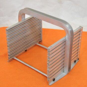 gebrauchter Ständer für DC-Platten Aluminium f. 10 Stk. 20 x 20 cm