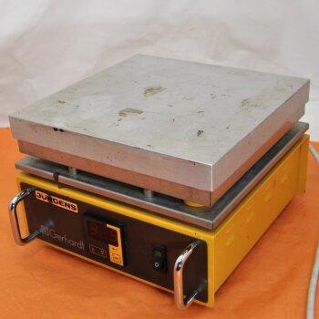 Präzisions-Heizplatte Gerhardt H22e, 600 Watt, digitale Temperatursteuerung