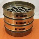 gebrauchter Analysensieb-Satz 300 mm Messing/Stahl  4-teilig