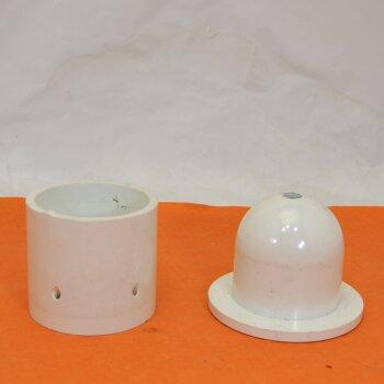 gebrauchter Tubenfüller, Melaminharz, Gewindegrößen M12