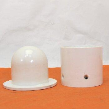 gebrauchter Tubenfüller, Melaminharz, Gewindegrößen M11