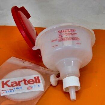 unbenutzter Trichter f. Flüssigabfall Nalgene Safety Waste Funnel 638-0004