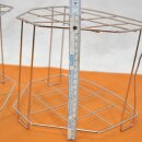2x gebrauchter Spülkorb-Einsatz Edelstahl für Laborspülmaschinen