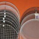 fast neuwertiger Rezeptur- und Kressner-Siebsatz 20 cm Apotheke