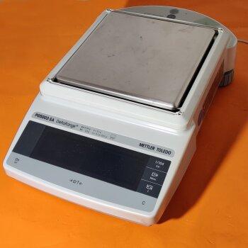gebrauchte Laborwaage Mettler PG5002-SA Delta-Range eichfähig, max. 5100g;  d=10mg e=0,1g