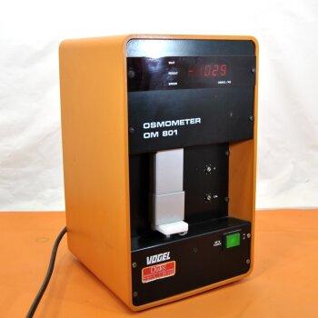 gebrauchtes Gefrierpunkt-Osmometer Vogel Osmometer OM 801 Ersatzteilspender