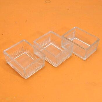 3x gebrauchte Färbekammer für Objektträger Färbekasten nach Schiefferdecker