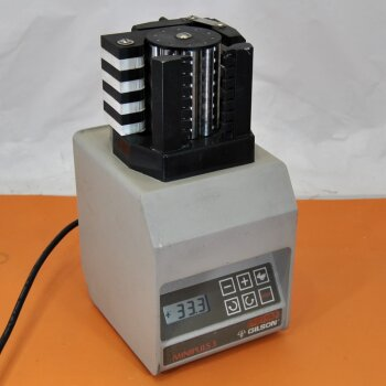 gebrauchte Peristaltikpumpe Abimed Gilson Minipuls 3, 8-Kanal-Pumpe