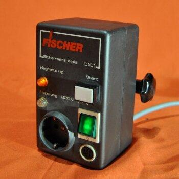 gebrauchte Relaisbox Fischer Sicherheitsrelais 0101