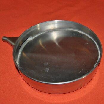 Siebboden für Nassiebungen, Auffanggefäß, D=200 mm x 50 mm Edelstahl