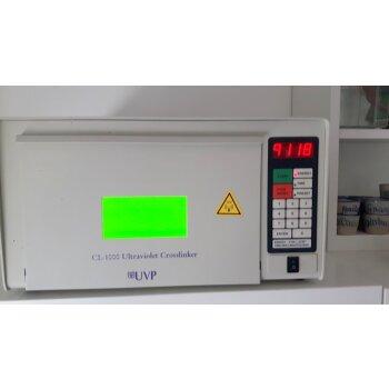 IM KUNDENAUFTRAG gebrauchte UV-Kammer 254nm UVP CL-1000 Ultraviolet Crosslinker