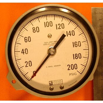 Manometer 0-200 PSIG Überdruck