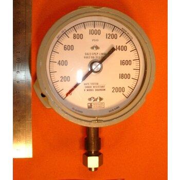 Manometer 0-2000 PSIG Überdruck