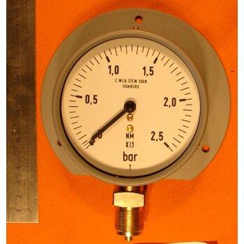 Manometer 0-2,5 bar Überdruck