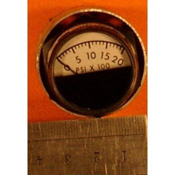 Manometer 0-2000 PSI Überdruck ovp