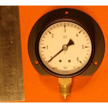 Manometer 0-6 bar Überdruck