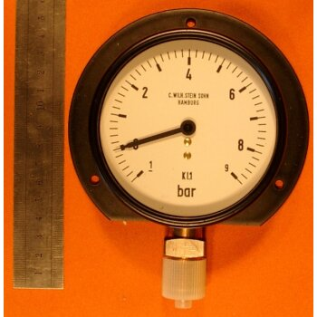 Manometer 0-9 bar Überdruck