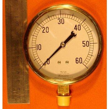 Manometer 0-60 Überdruck