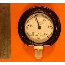 Manometer -1 bis 1,5 bar Überdruck