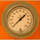Manometer 0-120 PSI Überdruck