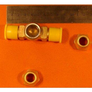 Schauglas SH 12 F.A.S. ND25  2.0401  für Kälteanlagen, bis 25 bar