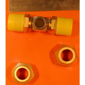 Schauglas SH 22 F.A.S. PN25  2.0401 für Kälteanlagen bis 25 bar