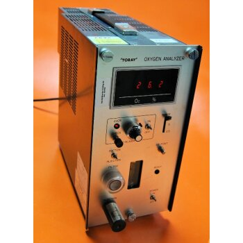 Toray Oxygen Analyzer LF-700 Sauerstoffmessgerät