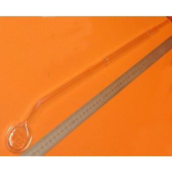 Laborrührer Glas-Rührorgan 16mm 52cm #785 gebraucht