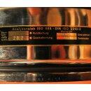 Analysensieb D=300mm, 20 mm Quadratlochung, Edelstahl