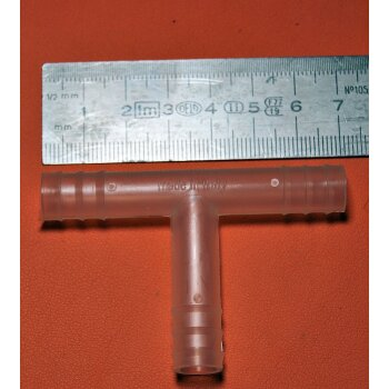 Schlauchverbinder PP T-Stück Kartell 463 10-11mm, NEU