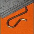 4x Klammer für Duran-Scheiben Schott 29 076 99, NEUWARE
