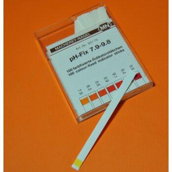 pH-Teststreifen, Indikatorpapier pH 7,9-9,8 100 Streifen, Macherey Nagel 92170