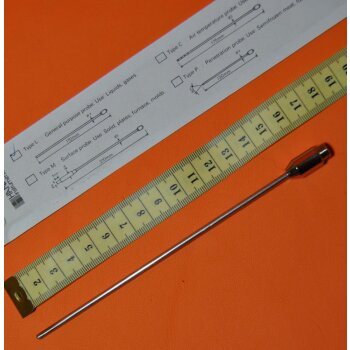 Hanna Universal Temperaturfühler Typ L, 170 mm, NEU