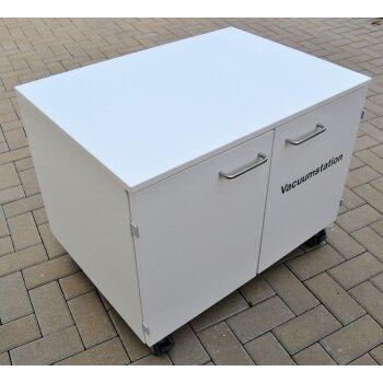 Medienversorgungsschrank, mobile Pumpenstation, Wesemann System Delta 30