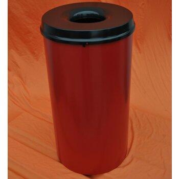 selbstlöschender Mülleimer, BLAU, 50 Liter, Papierkorb, V-Part 105000 , NEU