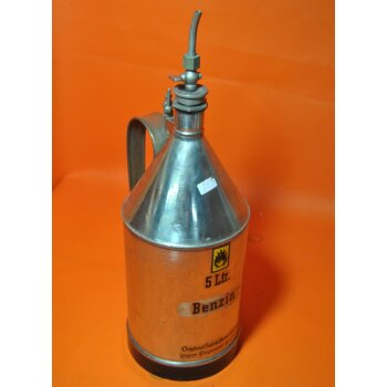 5 Liter Kanne Salzkotten Sicherheitsgefäß BENZIN