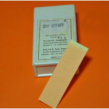 Silber-Testpapier zum Nachweis v. AG+ 200 Streifen Macherey Nagel 90732
