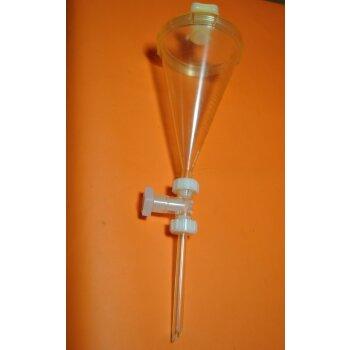 Kartell 976 graduierter Trenntrichter 200 mL (Scheidetrichter) Neuware