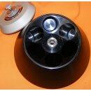 gebrauchter Festwinkel-Rotor Kontron-Hermle A8.24, 24.000 U/min, 8x50 ml