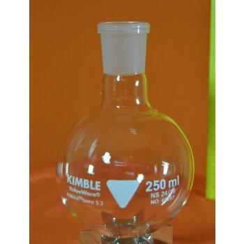 Kimble Chase Rundkolben 250 mL NS 24/29 Boro 3.3, Kimble 65287 NEUWARE