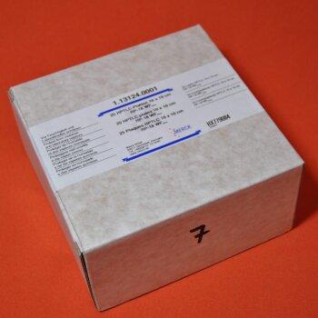 25 DC-Platten Merck 1.13124.0001 HPTLC-Platten 10x10 cm  RP-18 WF254s