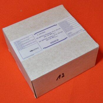 25 DC-Platten Merck 1.13124 HPTLC-Platten 10x10 cm  RP-18 WF254s