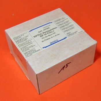 25 DC-Platten Merck 13724 HPTLC-Fertigplatten 10x10 cm  RP-18 F254S für Nano DC