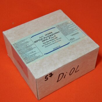 25 DC-Platten Merck 12668 HPTLC-Fertigplatten 10x10 cm  DIOL F254S für Nano DC