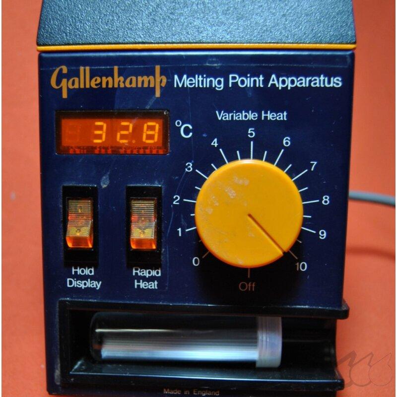 gebrauchtes Schmelzpunktmessgerät GALLENKAMP Melting Point ...
