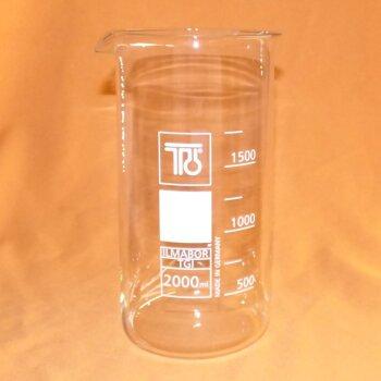 10 Stk. TGI Becherglas 2000 mL hohe Form, Boro 3.3, NEUWARE
