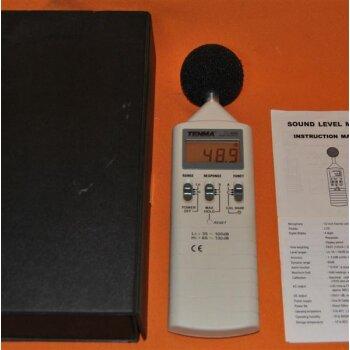 gebrauchter Schallpegelmesser TENMA Sound Level Meter 72-860 35-130dB