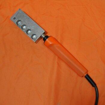 gebrauchter Blockthermostat mit 14mm-Bohrungen 40 Watt ca. 200°C